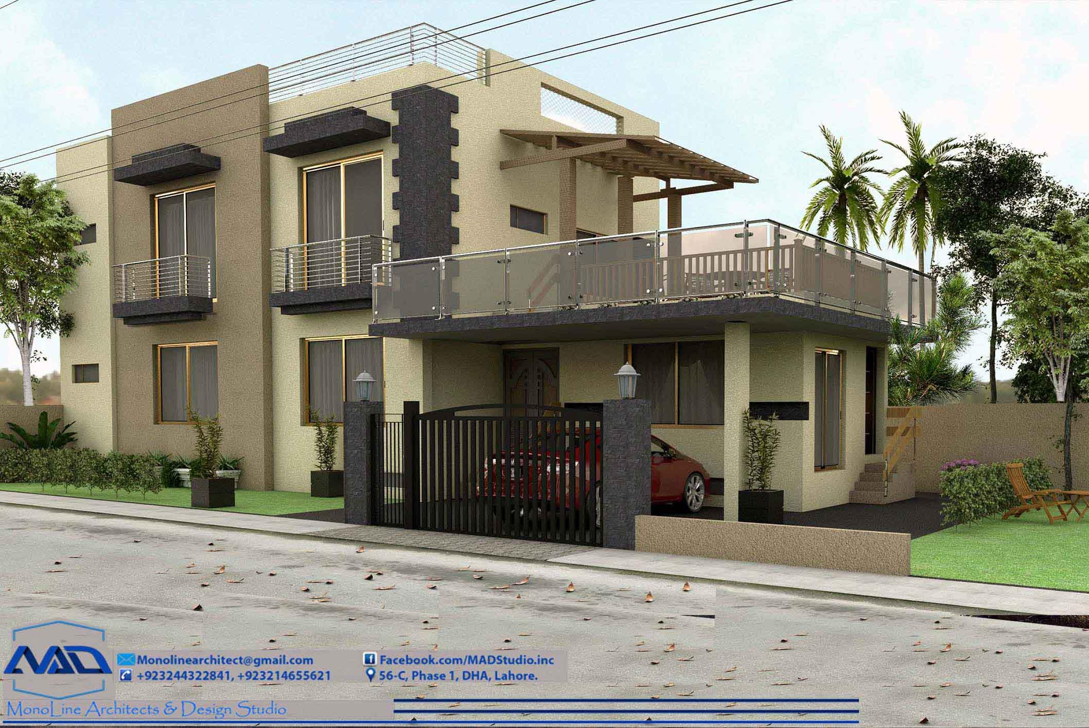 5 marla house