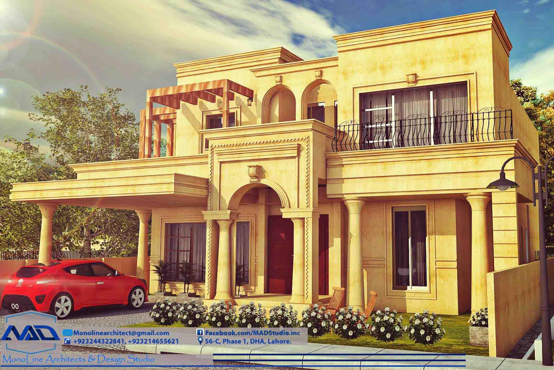 elegant classic house 0