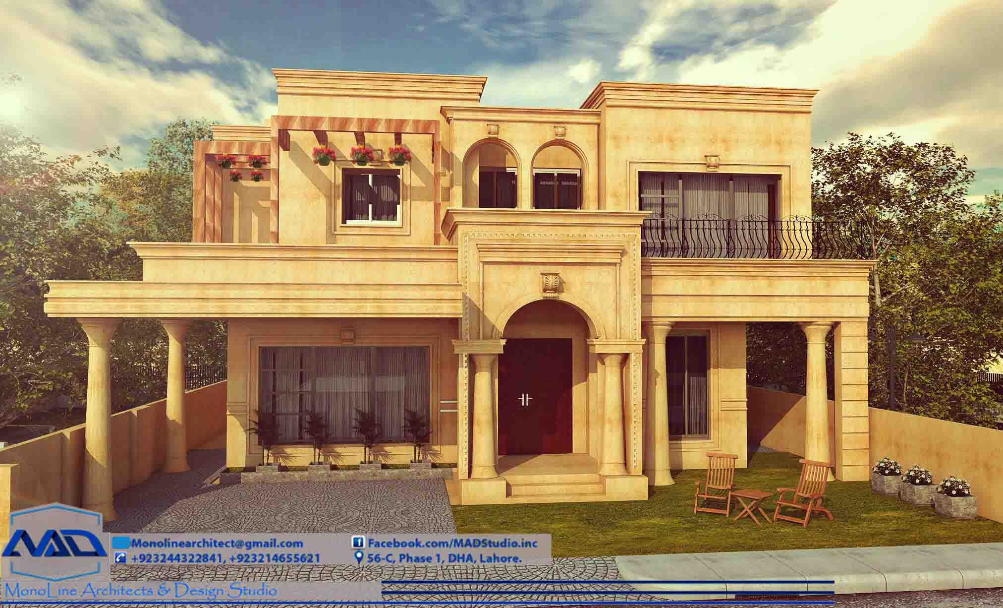elegant classic house 1