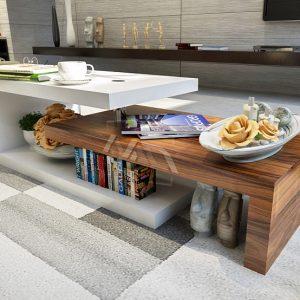 step center table