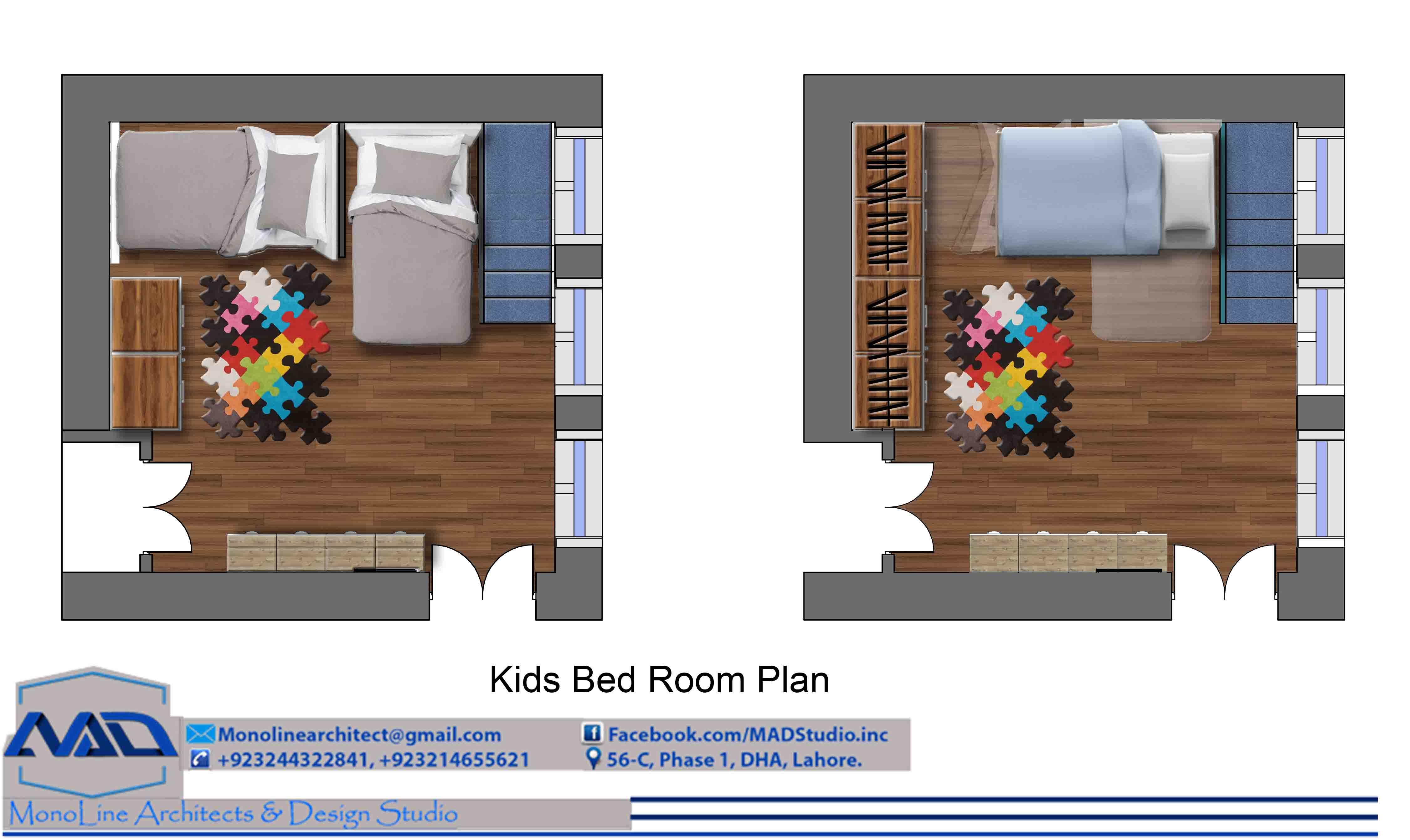 kid room Model 2