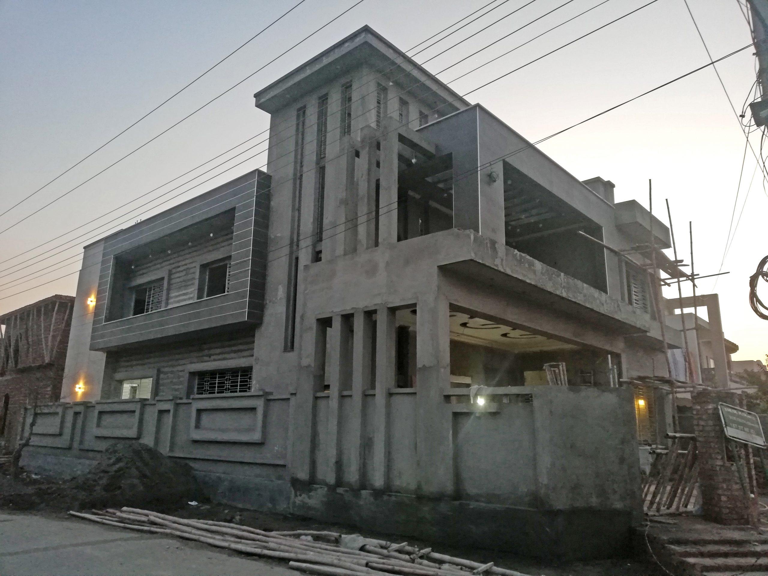 1 kanal luxury house under construction