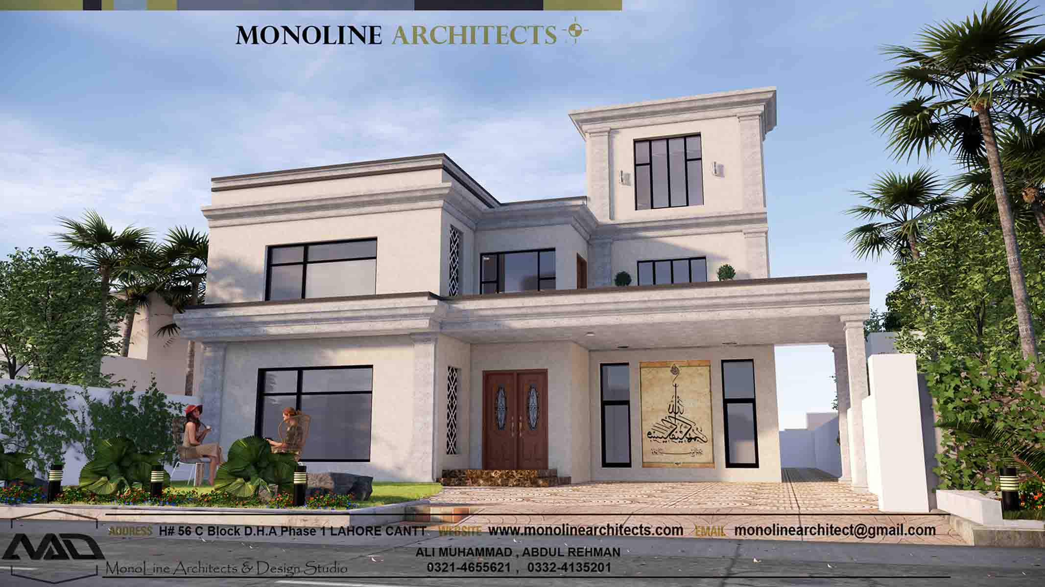 classic modren house 1