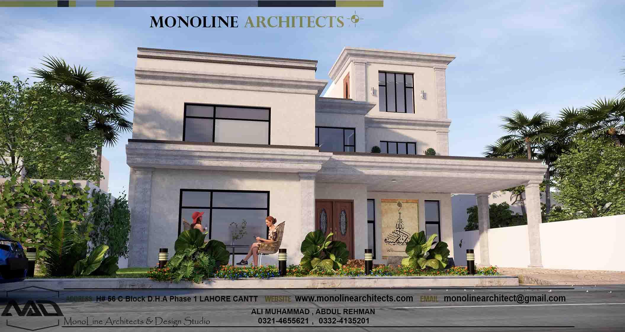 classic modren house 2