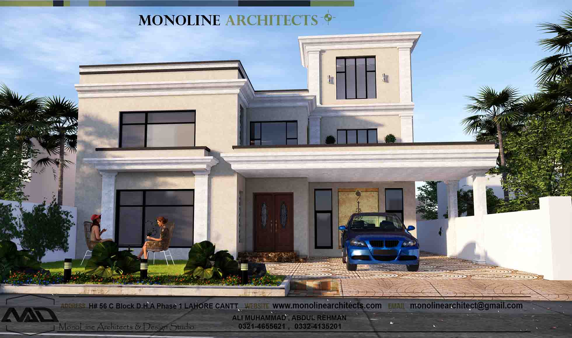 classic modren house 4