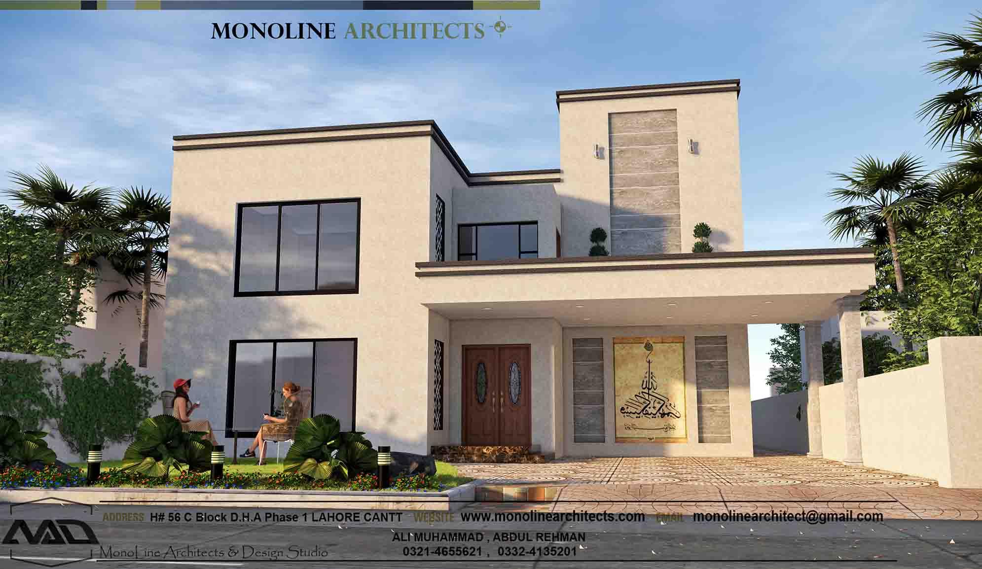 classic modren house 4a