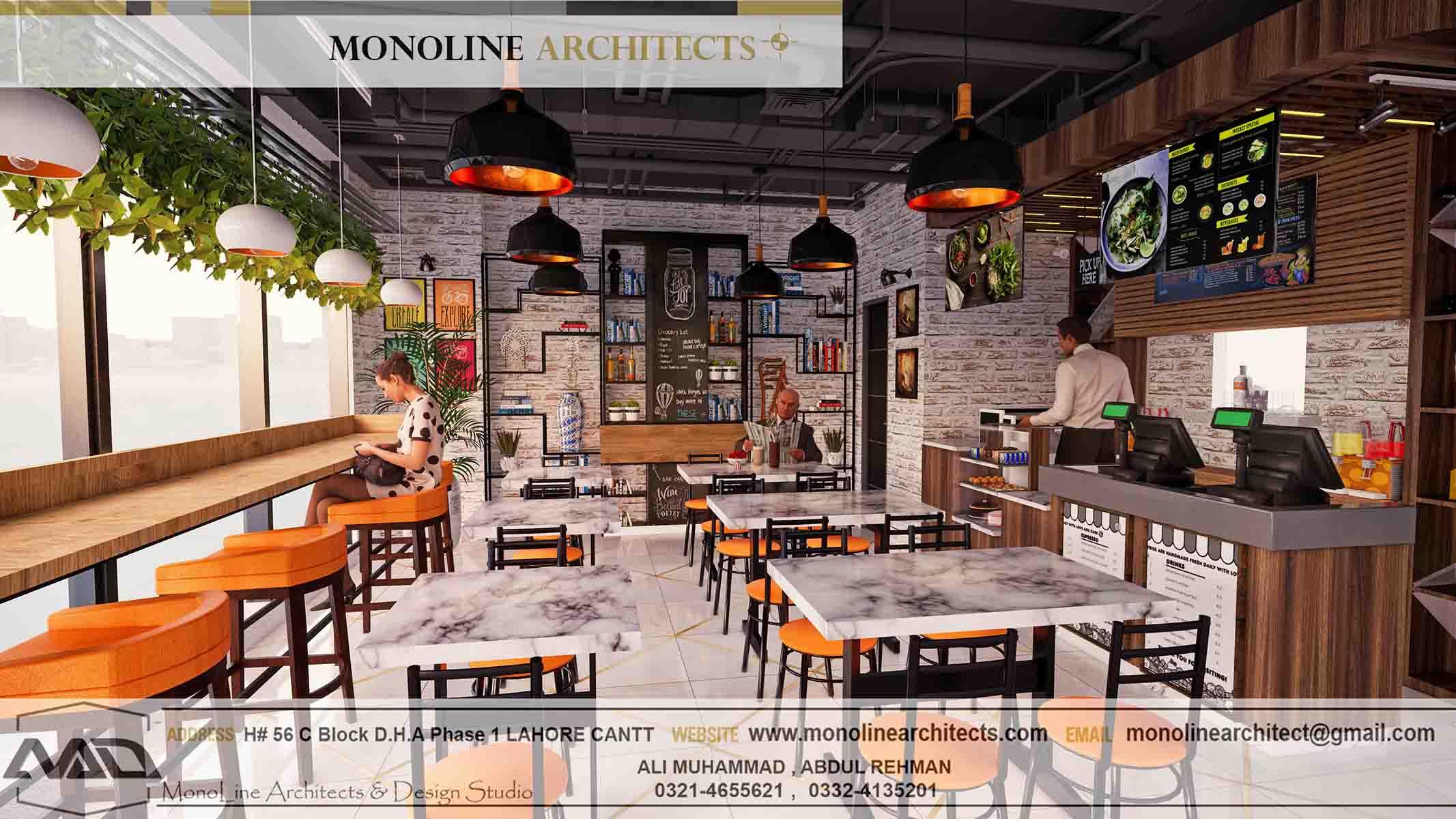 Dubai Cafe 10 by monoline architects