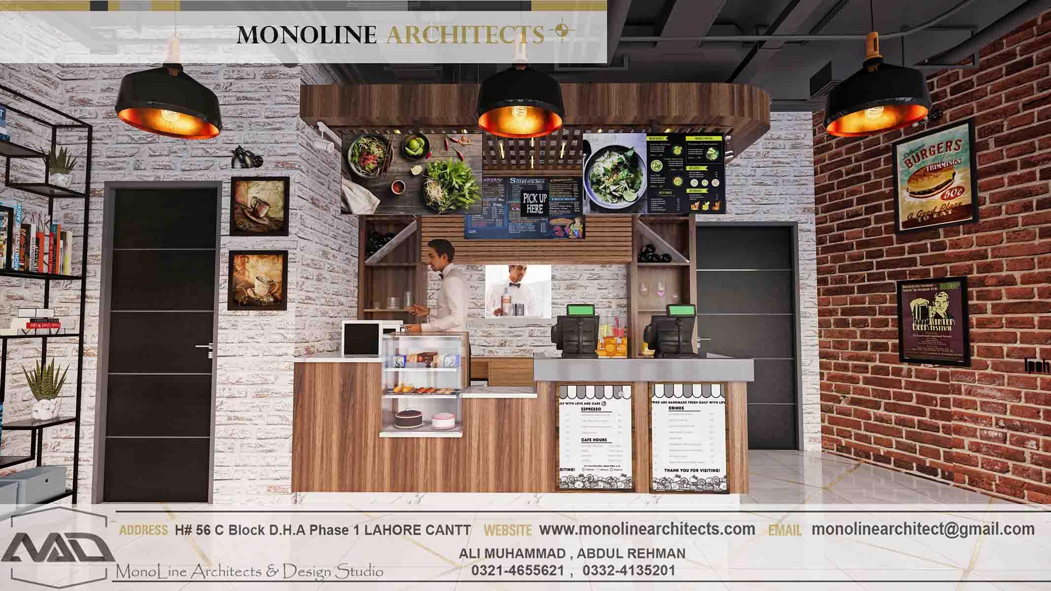 Dubai Cafe 11 by monoline architects