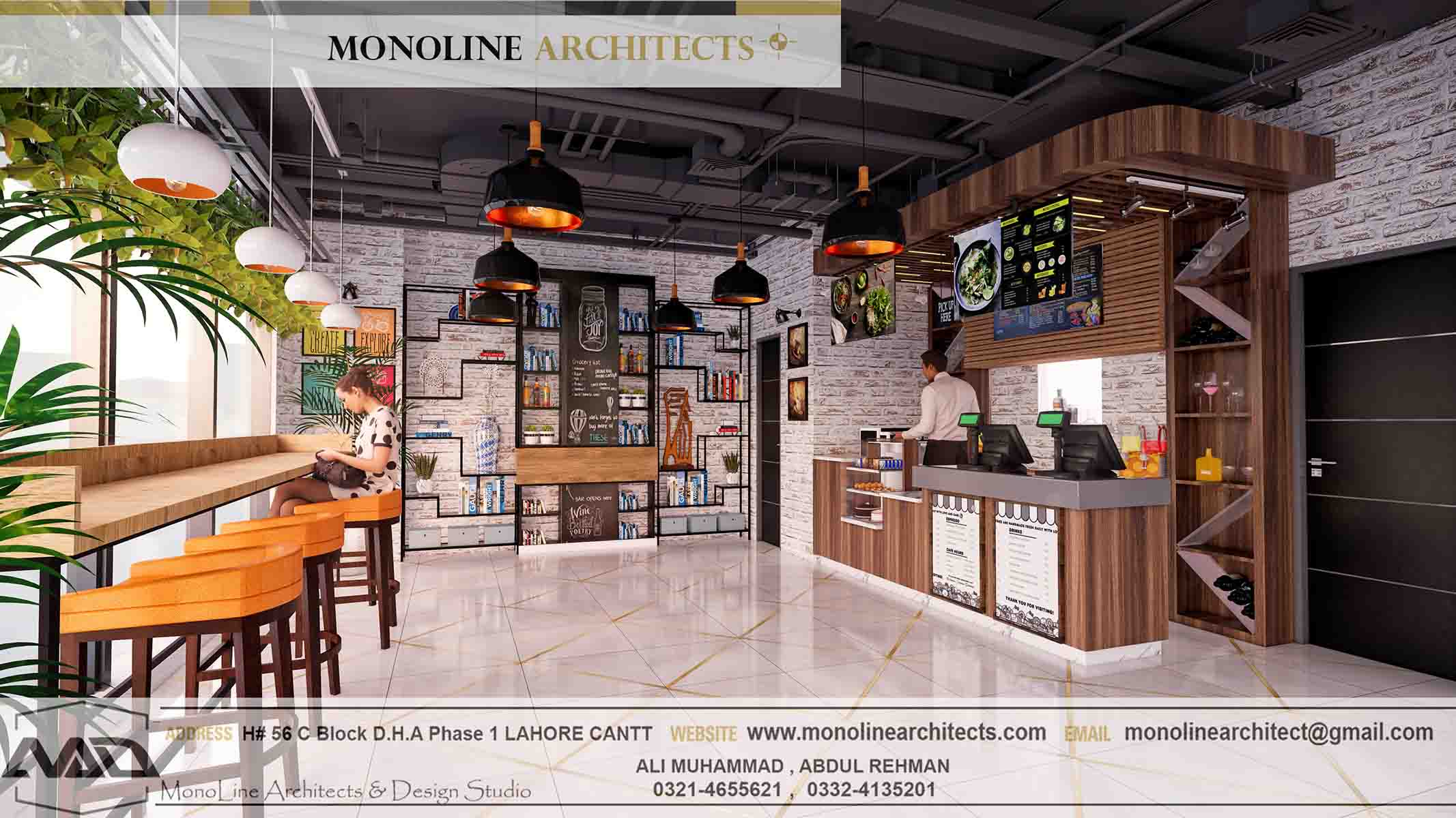 Dubai Cafe 12 by monoline architects