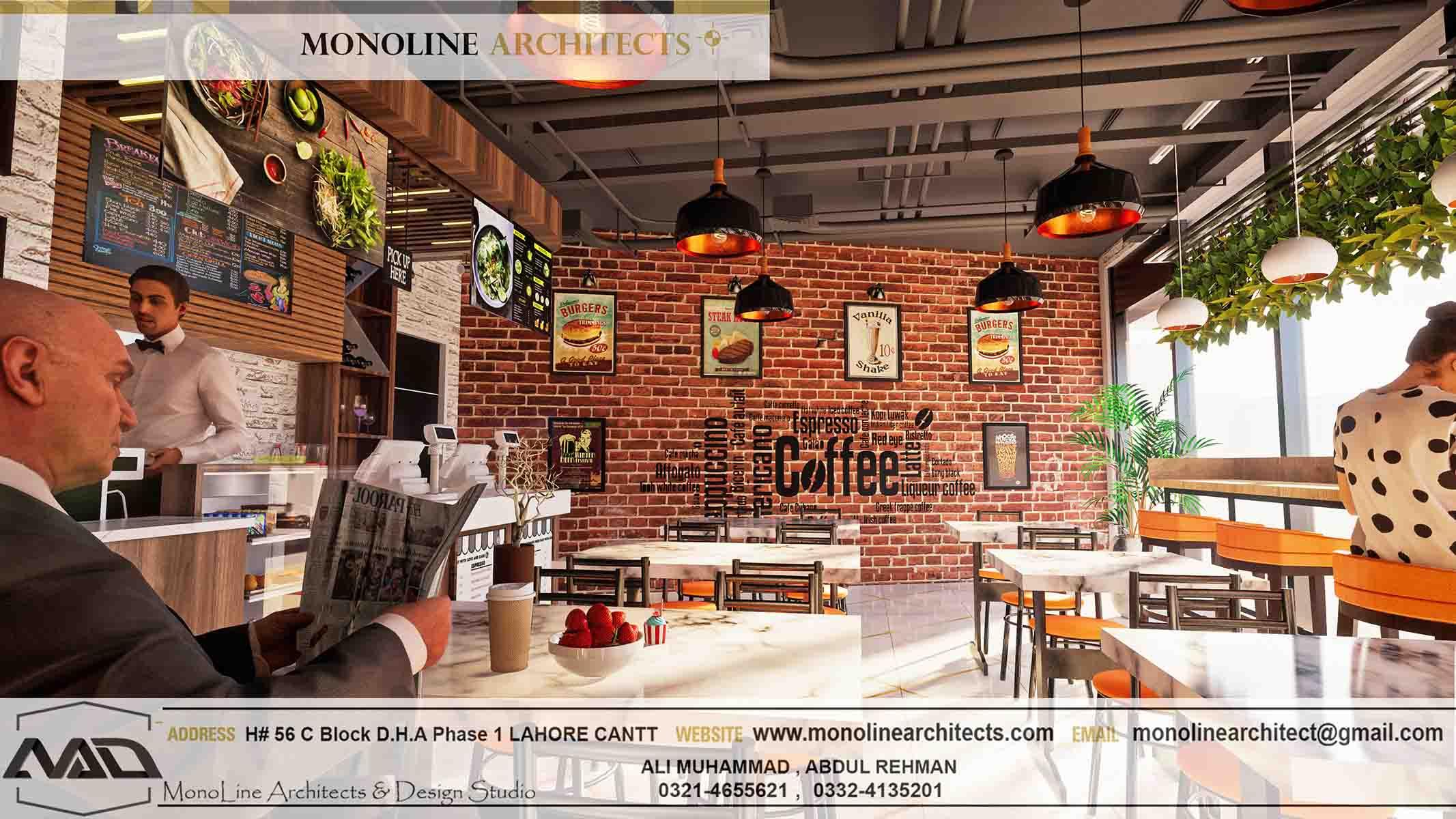 Dubai Cafe 3 by monoline architects