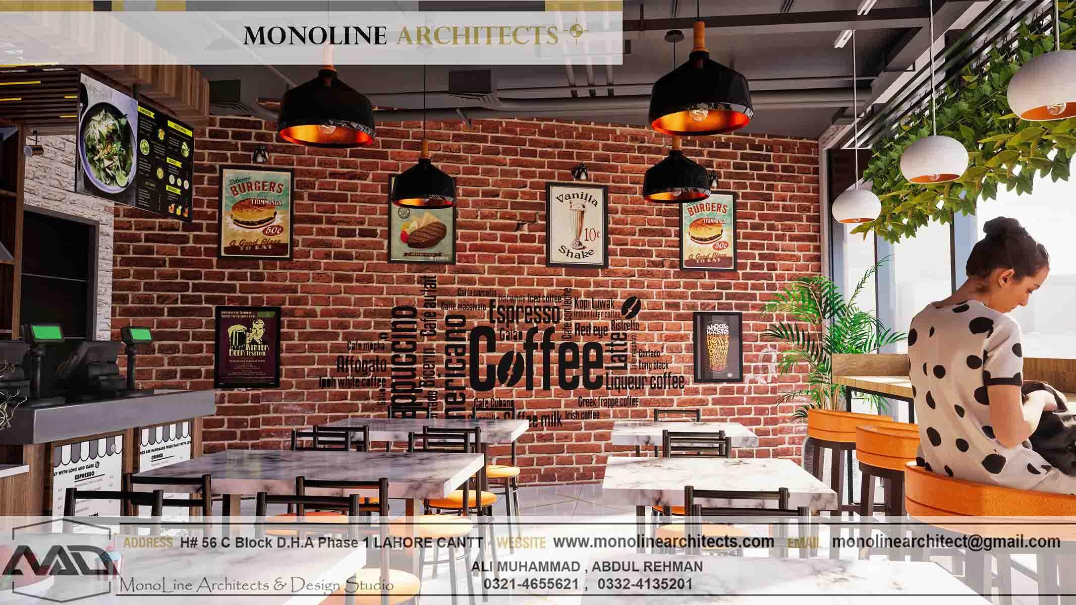 Dubai Cafe 5 by monoline architects