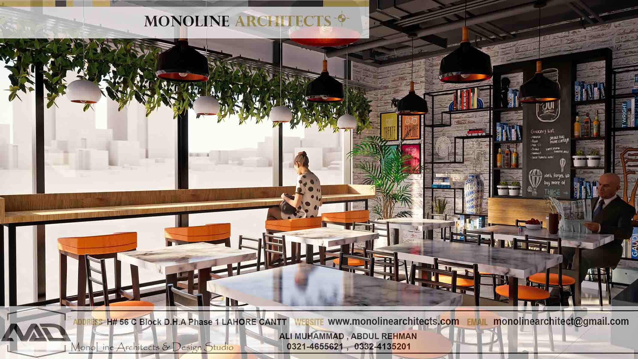 Dubai Cafe 6 by monoline architects