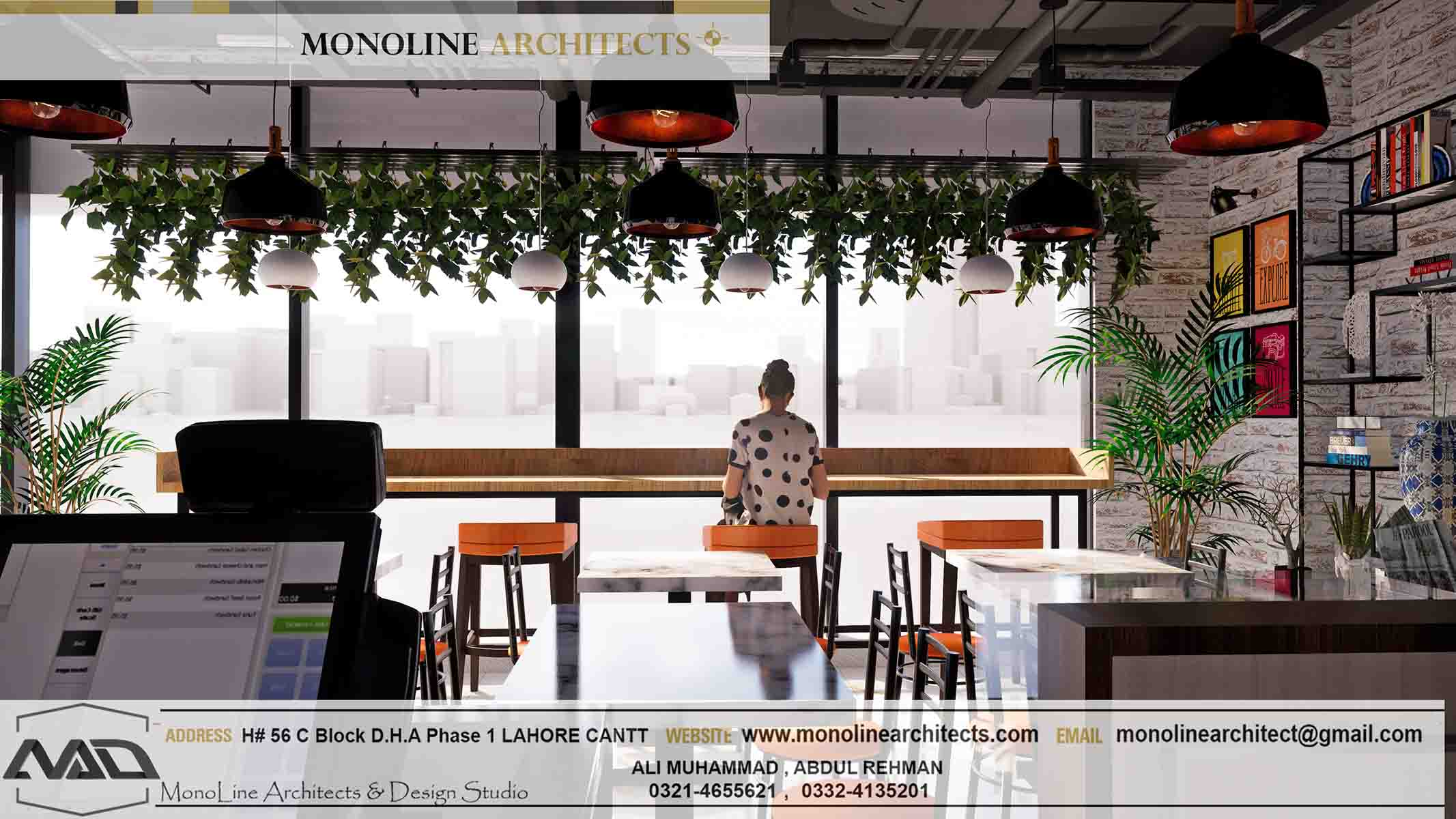 Dubai Cafe 7 by monoline architects