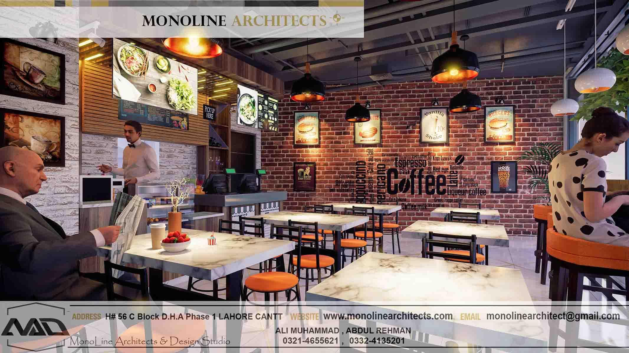 Dubai Cafe 8 by monoline architects