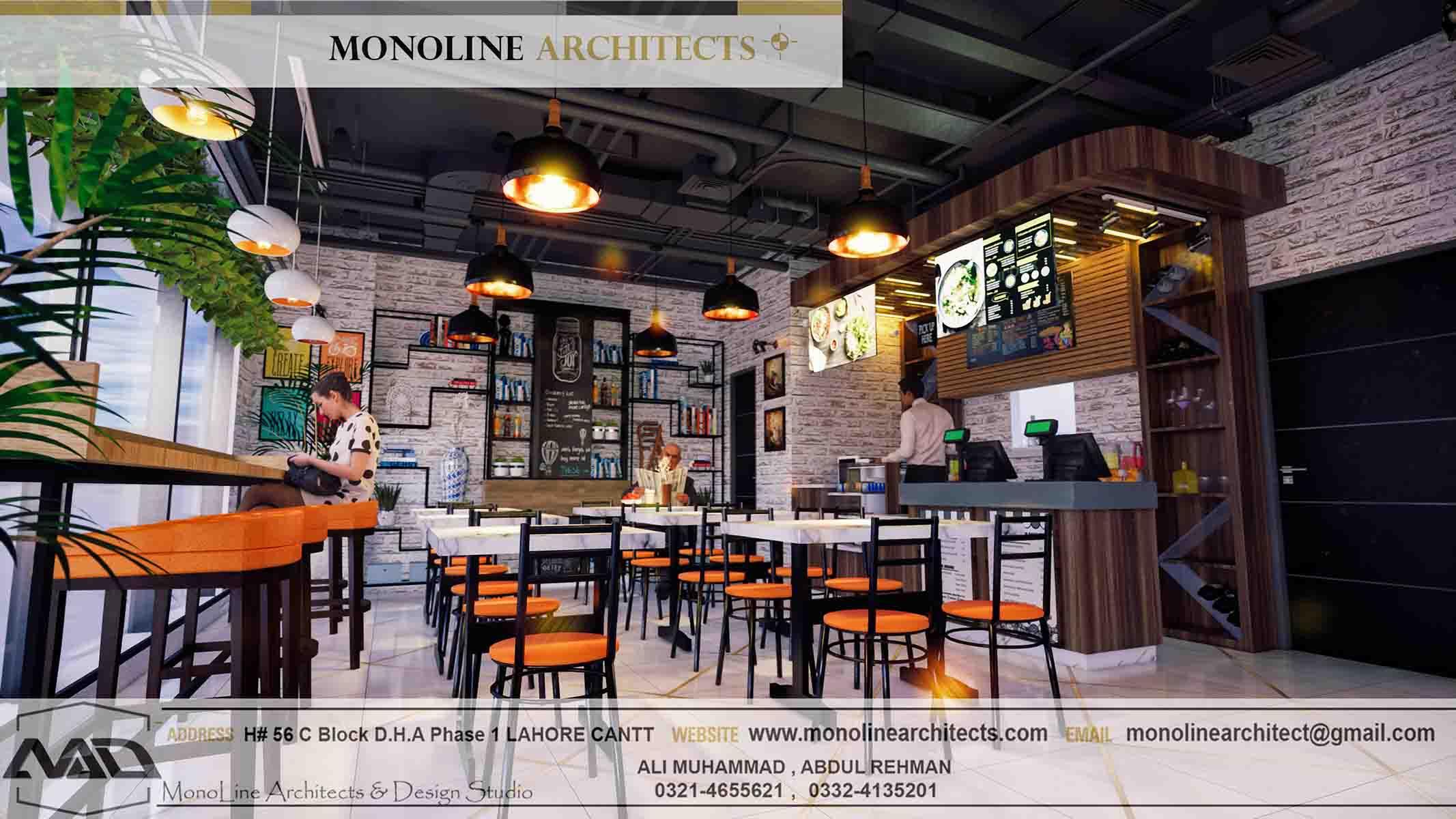 Dubai Cafe 9 by monoline architects