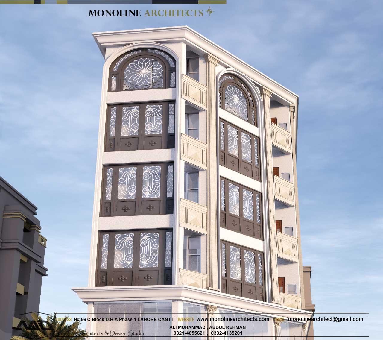 Platinum heights 2 by monoline architects