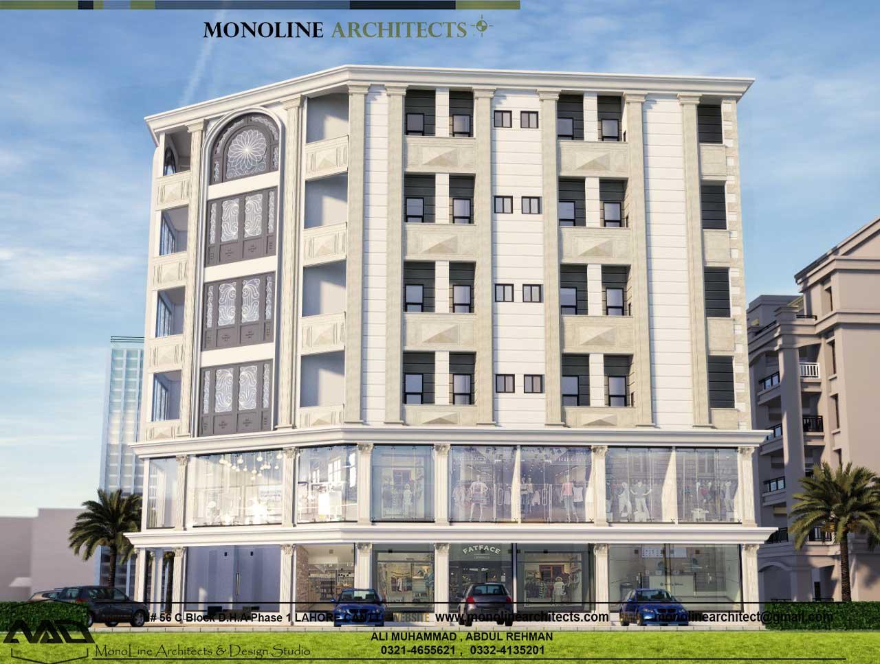 Platinum heights 3 by monoline architects