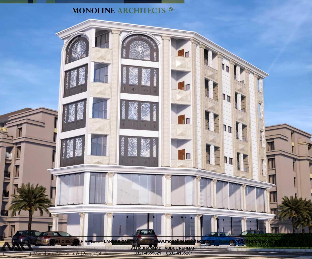 Platinum heights 4 by monoline architects